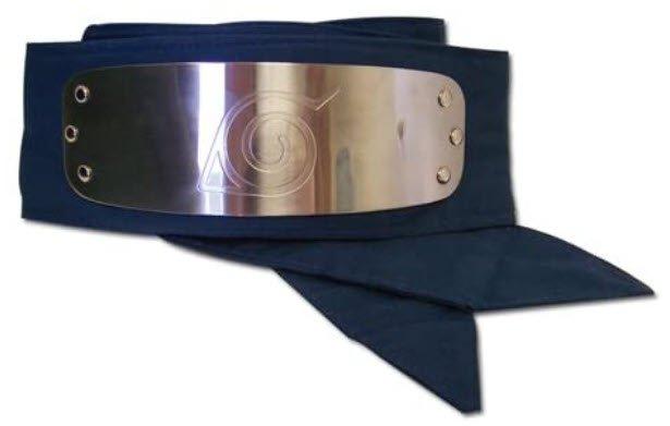 Great Eastern Naruto Headband - Leaf Village Logo Cosplay