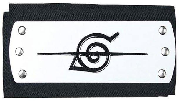 Ilovcomic Cosplay Konoha Betrayer Ninja Accessory Black Headband