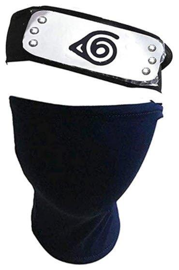 Naruto Cosplay Headband and Mask