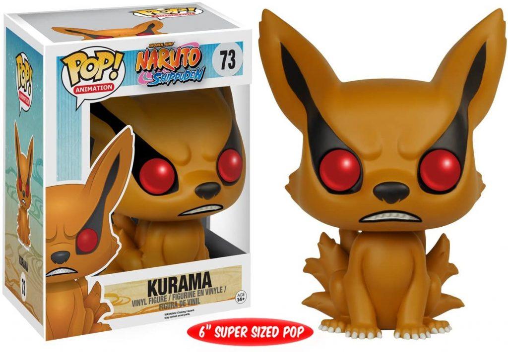 """Naruto Kurama 6"""" Action Figure"""