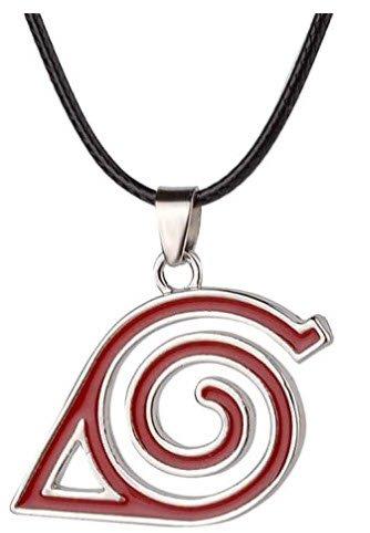 Yozone Naruto Leaf Village Double Brand Pendant Necklace